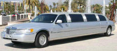 San Antonio white stretch limo