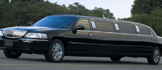 San Antonio black stretch limo